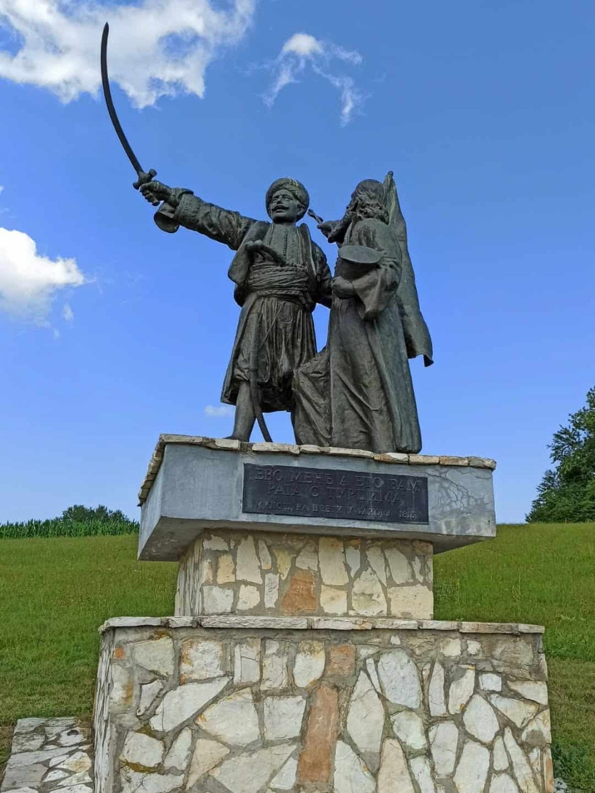 Spomenik u Takovu
